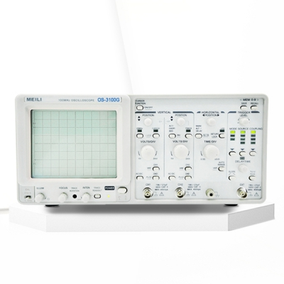 60M/100M Dual channel/four trace Analog oscilloscope